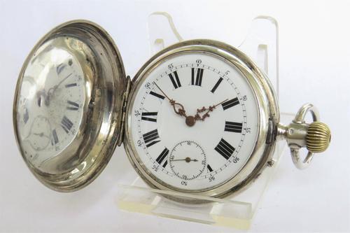 Antique Full Hunter Pocket Watch (1 of 5)