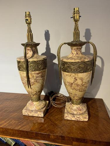 Pair of Art Deco Table Lamps (1 of 8)