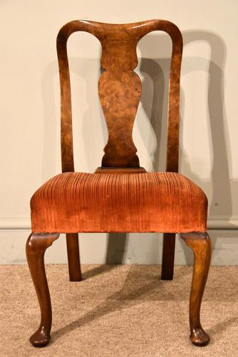 Walnut Queen Anne Style Childs Chair (1 of 5)