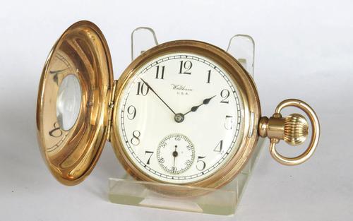 Antique Waltham Royal half hunter pocket watch (1 of 5)