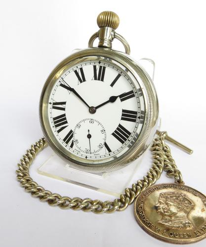 Antique Elsinore Pocket Watch, General Watch Co (1 of 5)