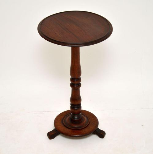 Antique    Victorian  Mahogany Occasional Table (1 of 5)