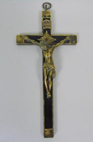 Early 20th Century Bronze Corpus Christi Crucifix (1 of 4)