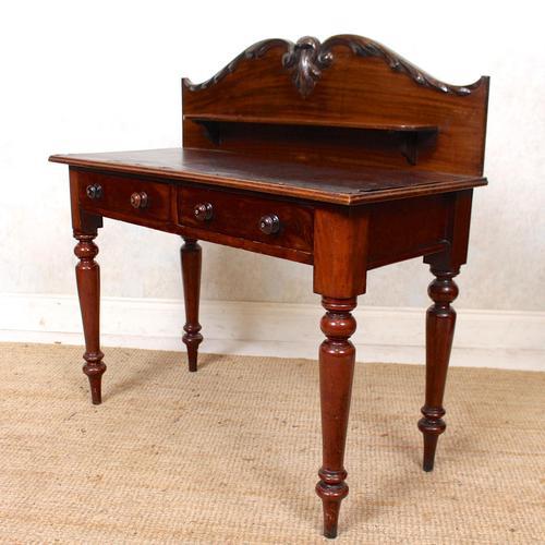 Victorian Mahogany Writing Desk (1 of 9)