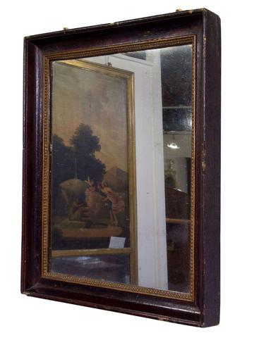 Early Mid 19th Century French Rectangular Mirror (1 of 5)