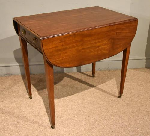 George III Mahogany Pembroke Table Drawer (1 of 6)