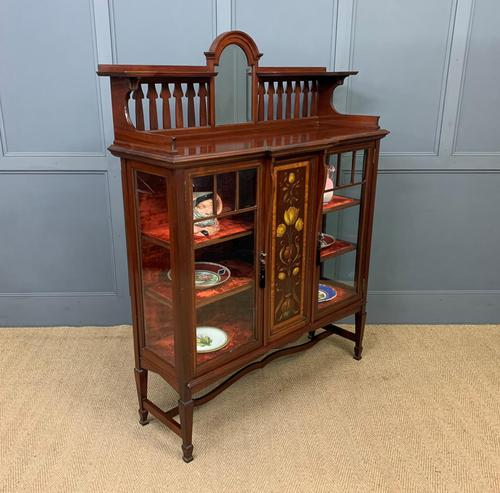 Shapland & Peter Mahogany Display Cabinet (1 of 16)