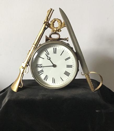 Clock Mantle Militaria (1 of 6)