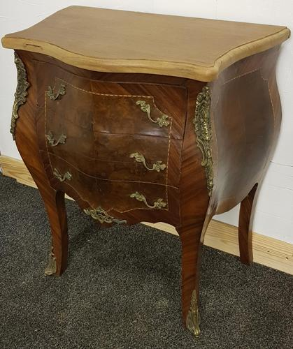 20th century reproduction louis XIV bombe chest (1 of 3)