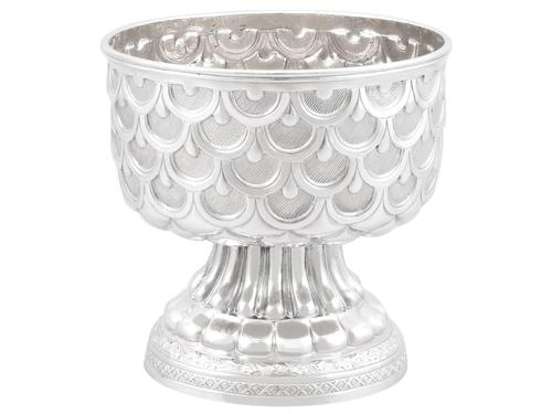 French Silver Bowl - Antique c.1900 (1 of 9)