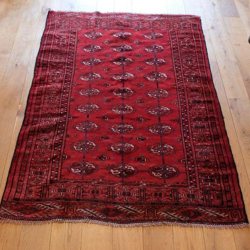 Vintage Handmade Persian Turkoman Rug (1 of 12)