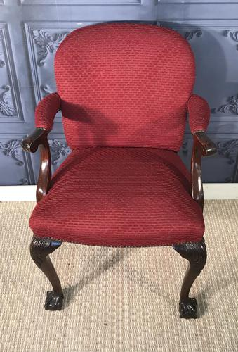 Mahogany Desk Chair (1 of 7)
