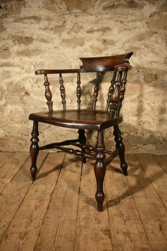 Smokers Bow Armchair c.1880 (1 of 5)