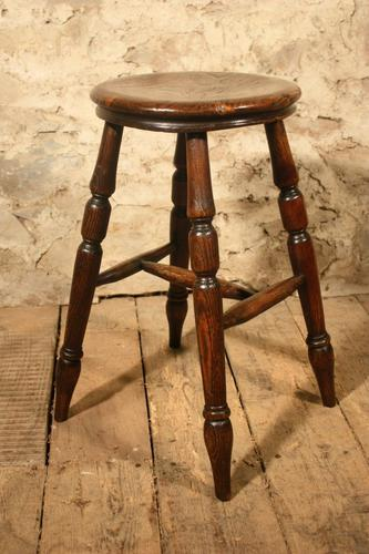 Country Stool c.1880 (1 of 2)