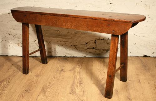 Oak Country Bench c.1850 (1 of 1)