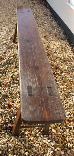 West Country Pine Bench (1 of 1)