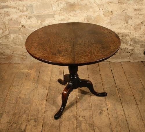 Oak Tripod Table c.1820 (1 of 1)