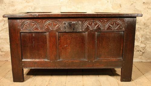 17th Century Oak Coffer (1 of 1)