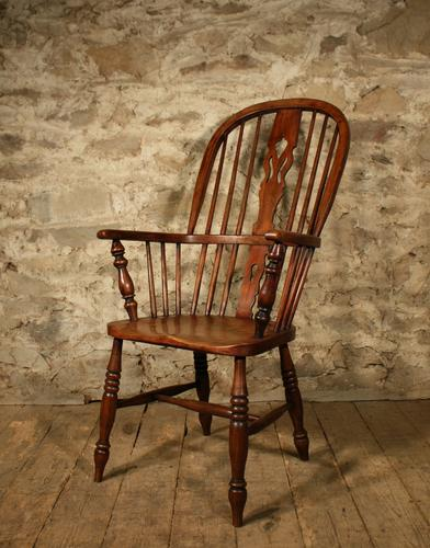Country Windsor Armchair c.1860 (1 of 1)
