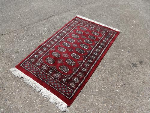 Very Nice Iranian Red Ground Rug (1 of 4)