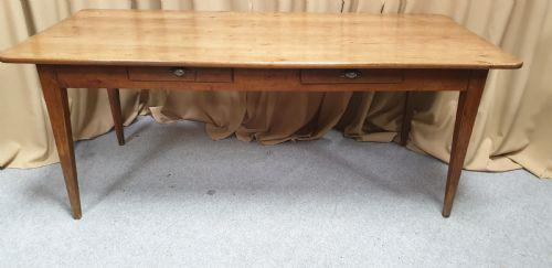 Very Good French Farmhouse Dining Table c.1850 (1 of 7)