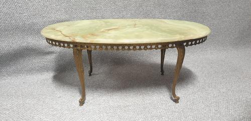 Marble Topped Coffee Table c.1930 (1 of 4)