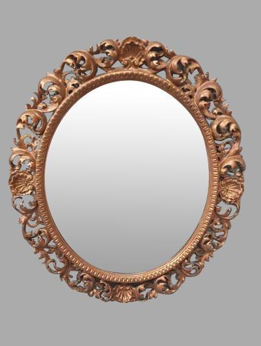 Large Florentine Gilt Mirror (1 of 6)