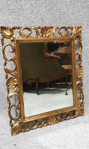 Italian Gilt Mirror c.1920 (1 of 3)