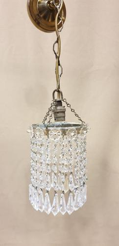 Pretty French Crystal Light Fitting (1 of 6)