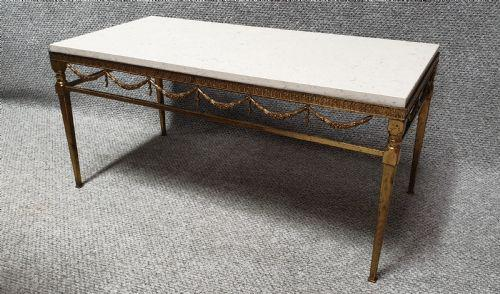 Superb French Gilt Coffee Table (1 of 6)