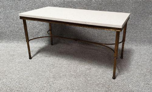 French Gilt Coffee Table (1 of 9)