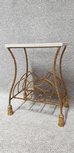 Superb Gilt Metal Magazine RAck (1 of 6)
