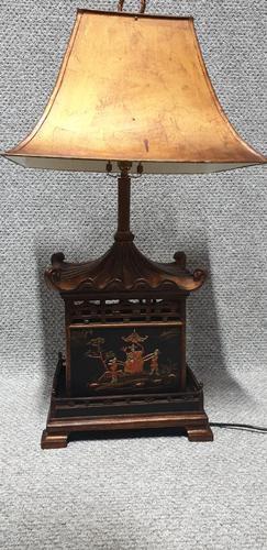 Chinoiserie Lamp c.1920 (1 of 8)