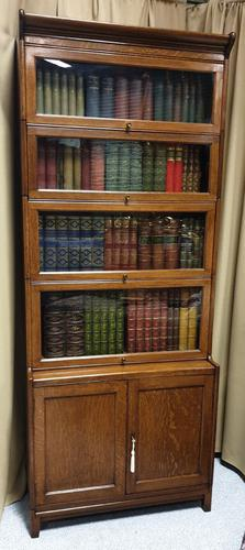 Top Quality Barristers Globe Wernick Sectional Bookcase (1 of 8)