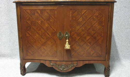 Lovely French Parquetry Cupboard (1 of 10)