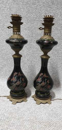 Pair of French Lamps c.1920 (1 of 5)