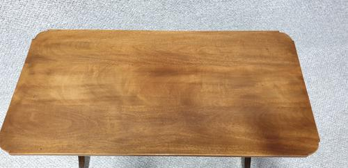 Good Inlaid Mahogany Coffee Table (1 of 8)