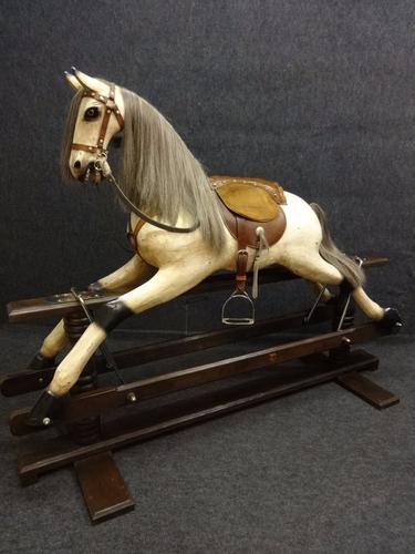 Stunning Large Rocking Horse (1 of 1)