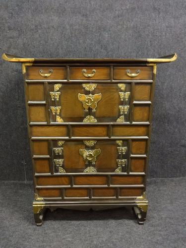 Chinese Elm Cabinet c.1920 (1 of 1)