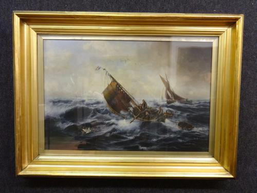 Oil on Canvas 'Fletcher Edward Heng Eugene' 1857 - 1945 (1 of 1)