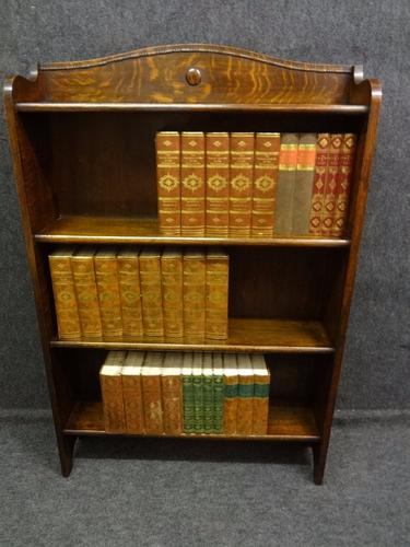 Solid Oak Bookcase c.1920 (1 of 1)