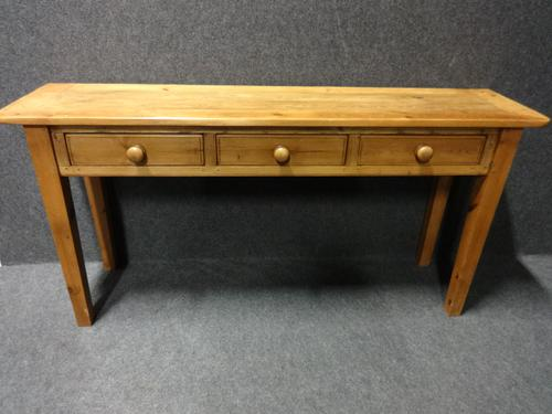 Good Pine Console Table / Side Table c.1880 (1 of 1)