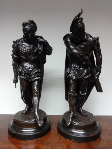 Good Pair of Spelter Figures (1 of 10)