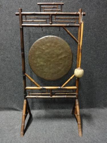 Bamboo Framed Gong (1 of 6)