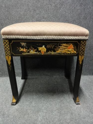 Chinoiserie Piano Stool c.1900 (1 of 1)