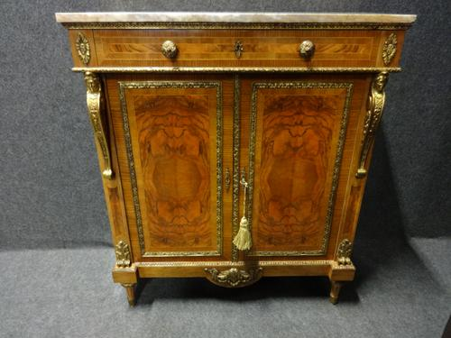 Stunning French Walnut Cabinet c.1900 (1 of 1)