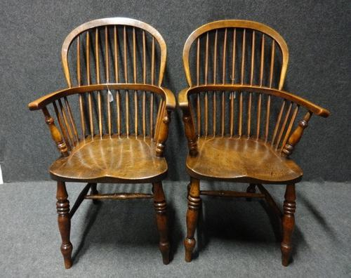 Pair of 19th Century Windsor Chairs (1 of 1)