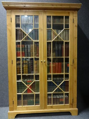 Tall Pine Bookcase c.1890 (1 of 1)