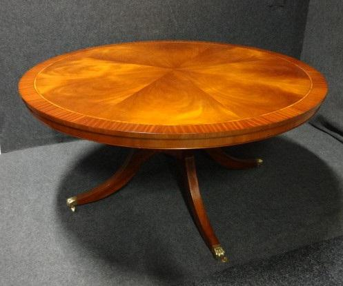 Large Mahogany Dining Table (1 of 1)
