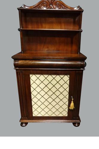 Quality Regency Mahogany Chiffonier of Small Proportions (1 of 1)